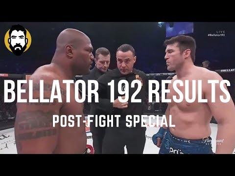 Bellator 192 Results: Chael Sonnen vs. Rampage Jackson | Post-Fight Special | Luke Thomas