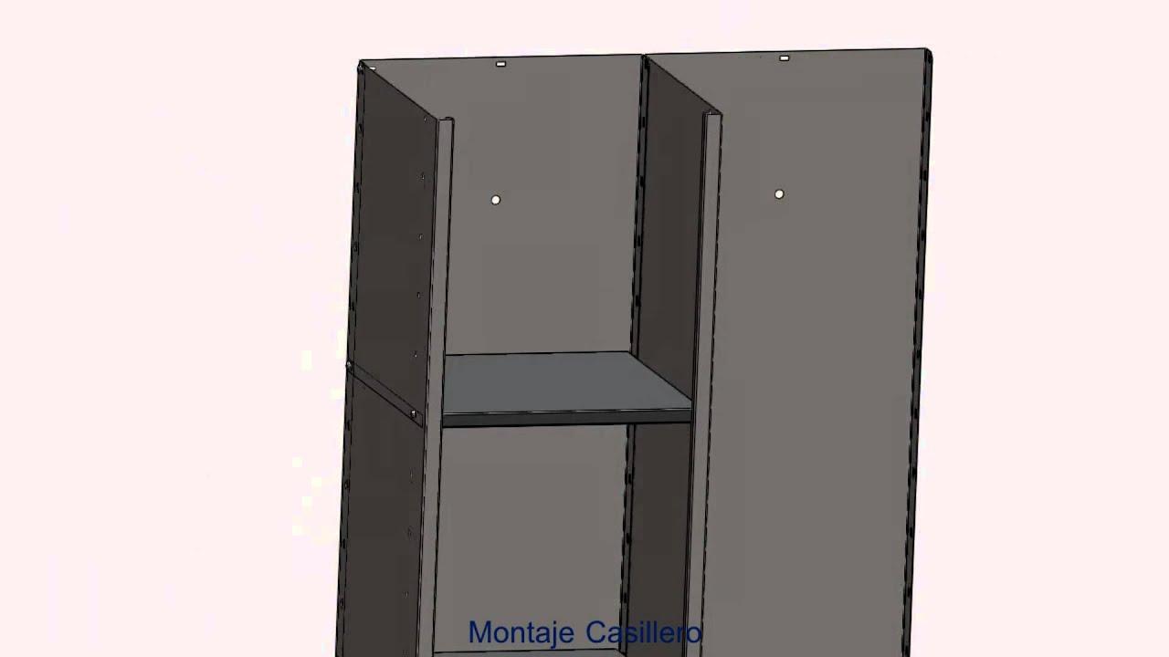 Montaje mueble casillero estanter as ima s l las palmas youtube - Mueble casillero ikea ...