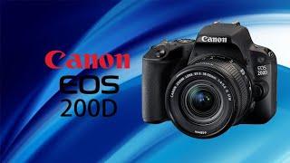 Review Canon EOS 200D مراجعة