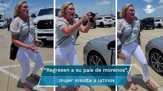 La discusión se registró en el estacionamiento de una tienda de New Coney, Texas