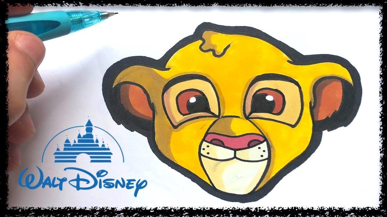 Tuto Emoji Simba Disney Youtube