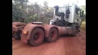 ajudando os colegas no Mato Grosso