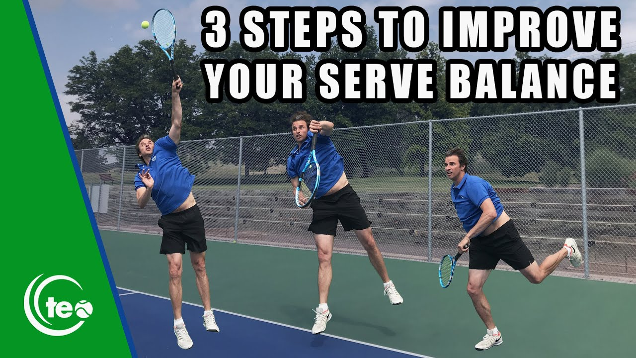 How To Improve Your Serve Balance | TENNIS SERVE