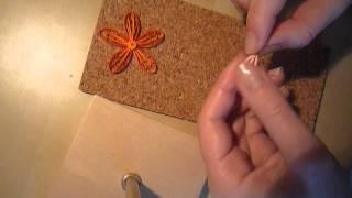 Quilling - jak przy pomocy grzebienia zrobić kwiaty?