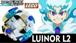 Как сделать LUINOR L2 из Лего БейБлэйд Берст Луйнор Л2 Lego BeyBlade Burst