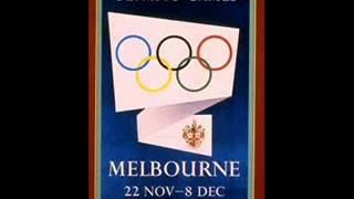 Chanson thème Jeux olympiques Melbourne 1956 + paroles