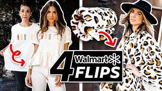 Walmart Clothing Flip: 4 Easy DIY Transformations! | DIY with Orly Shani