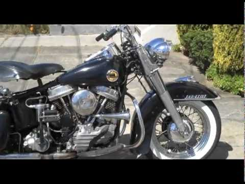 1958 Harley Davidson Panhead, Duo Glide- Unrestored, runs perfectly