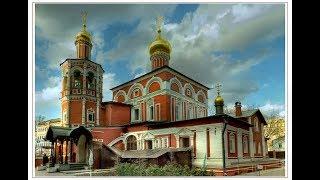 Засыпанная Москва.  Церковь всех Святых на Китай городе.