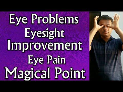 Acupressure Points For EYE Problems || EYESIGHT Improvement || Eye INFECTION|| Eye PAIN|| Eye STRAIN