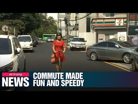 Commute and short-distance travel made fun and easy on electric bikes and scooters in Seoul