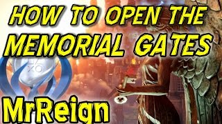 Bioshock Infinite - How To Open The Memorial Gardens Gate (grave Yard).
