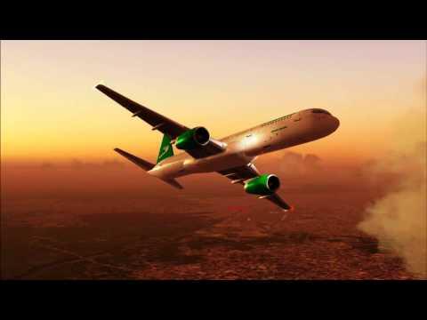Turkmenistan T5555 757-200 Ashgabat - Amritsar