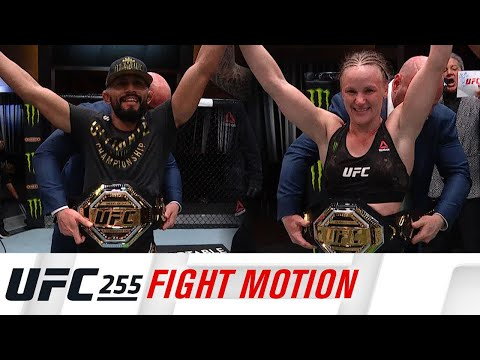 UFC 255: Fight Motion