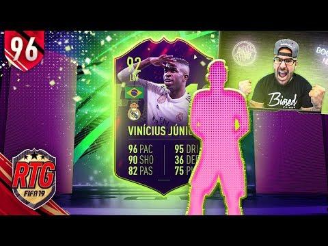 OMG I GOT 92 VINICIUS JUNIOR FUTURE STAR! FIFA 19 Ultimate Team RTG #96 thumbnail