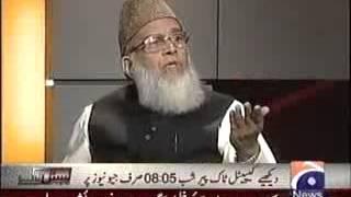 Awaam Ki Adalat -- 18 March 2012 Syed Munawar Hassan .flv