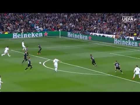 UEFA Champions League ;Highlights: Real Madrid 3-1 Paris
