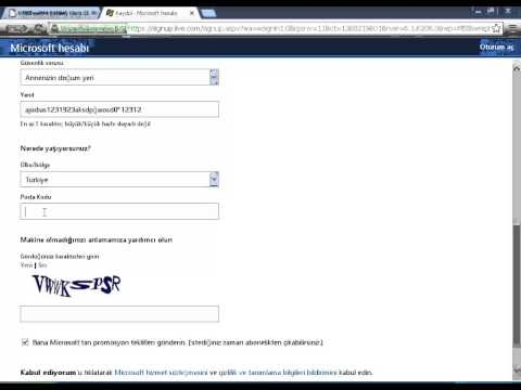 Hotmail Kaydol, Kayıt Ol Nasıl Olunur