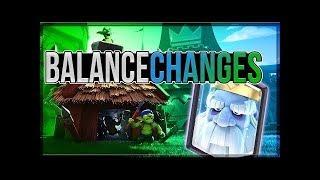 CLASH ROYALE JANUARY BALANCE CHANGES!?! NEW OVERLAY