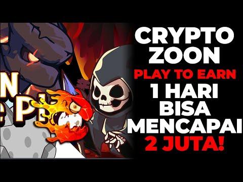 CRYPTOZOON - NFT GAME Play To Earn Fresh Masih Baru Dan Bisa CUAN 144$ Perhari!