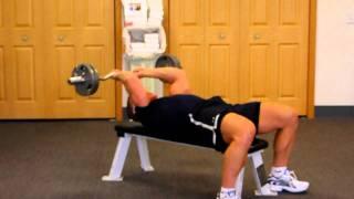 Skull Krusher for Triceps & Arm Development