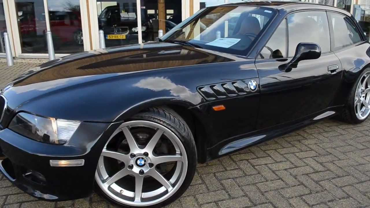 Bmw Z3 2 8 Coupe Sportleder M Tech Airco Youtube
