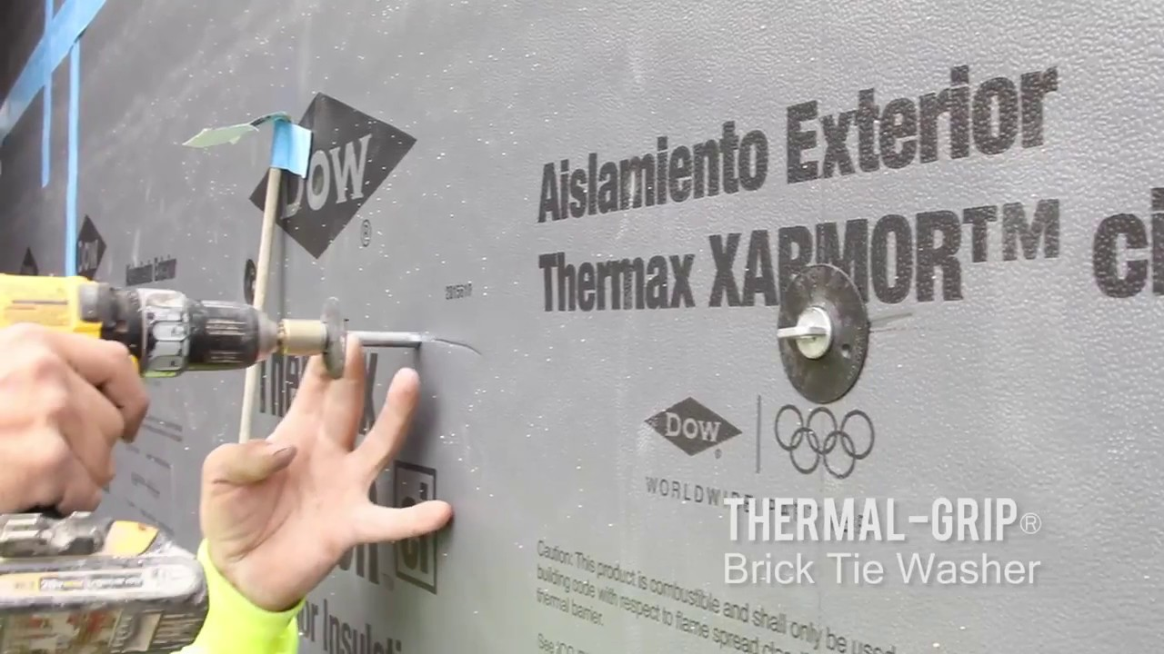 Thermal-Grip® Brick Tie Washer Videos