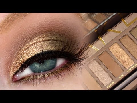 Golden Brown Smokey Eye | UD Naked Palette + MAC Dupes! thumbnail