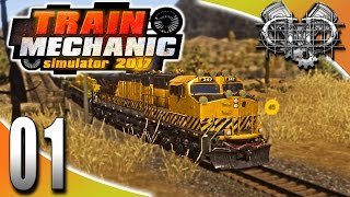 train Mechanic Simulator 2017 Gameplay (PC HD)