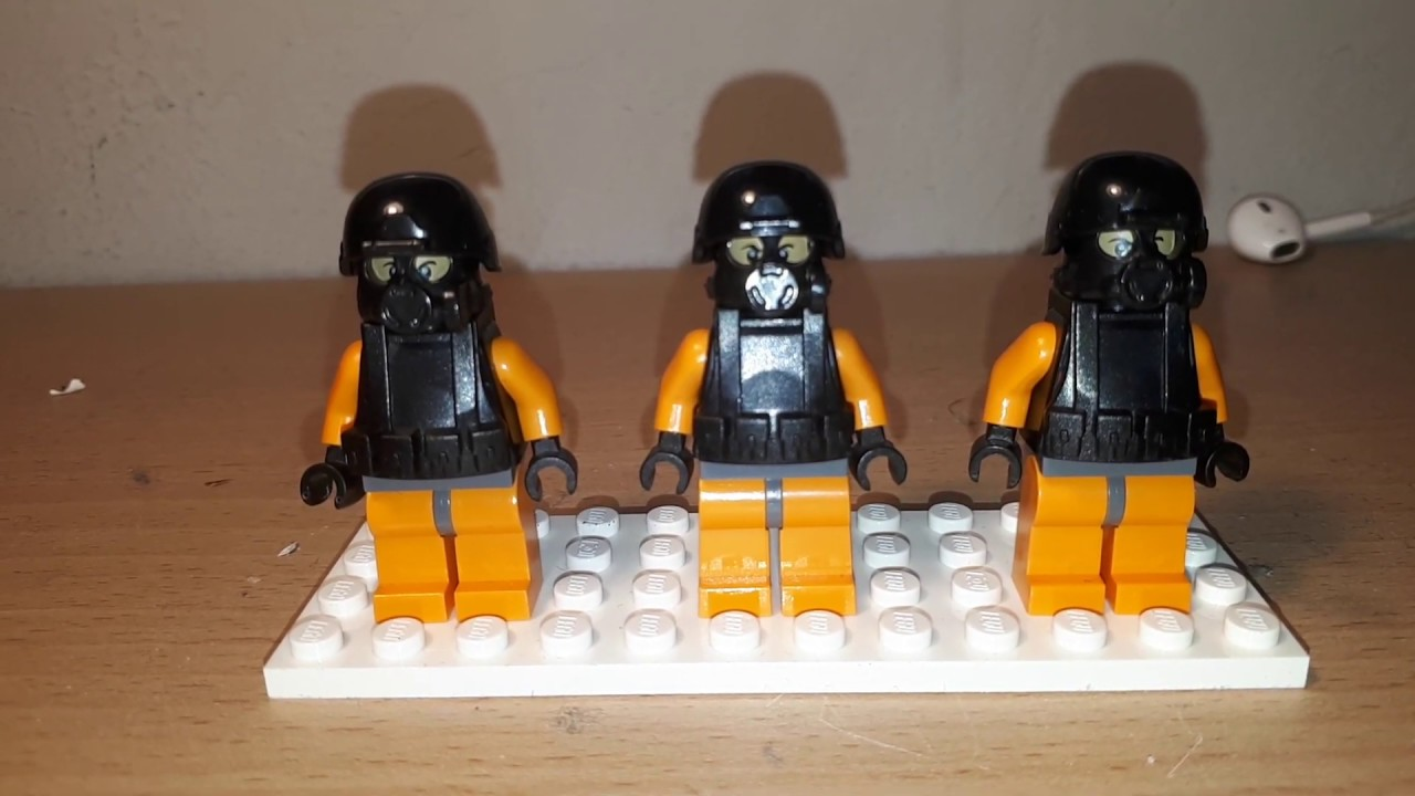 Lego Customized MTF Unit from SCP containment breach