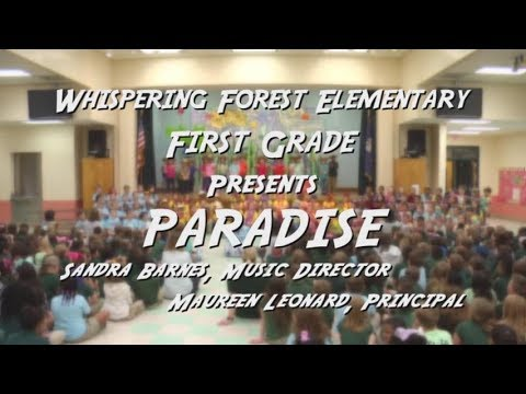 Whispering Forest Elementary First Grade Play