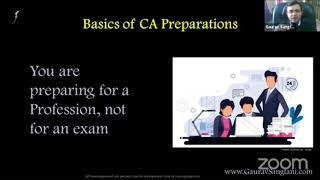 "Free Webinar session with CA Gaurav Sangtani on ""Clearing CA this time - Your Guide to clear CA"""