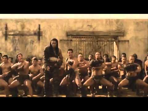 Spartacus  Haka Support for Andy Whitfield