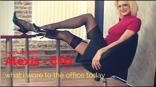 what i wore to the office today alexis cfo
