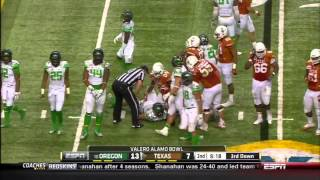 2013-12-30 Alamo Bowl Texas Longhorns vs Oregon Ducks (HD)