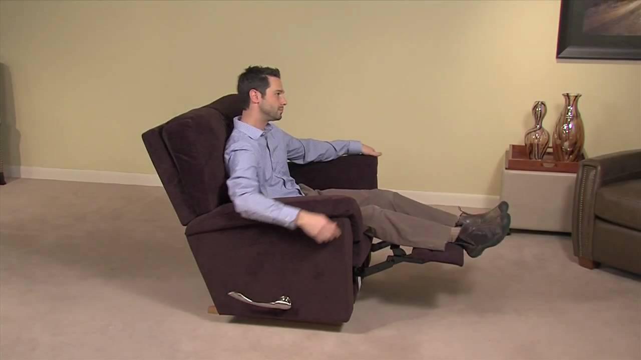 Simple Operation Of A La Z Boy Reclina Rocker Chair Seat Tilt Rachet Mechanism Youtube