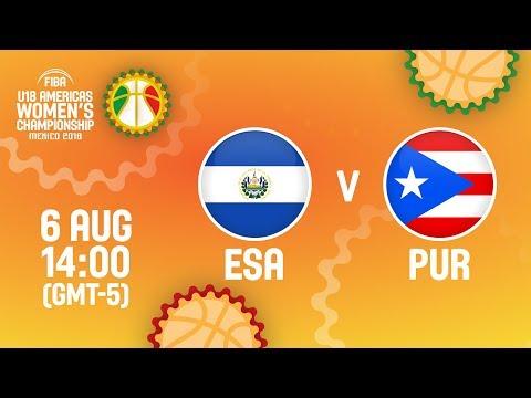 El Salvador v Puerto Rico - Full Game