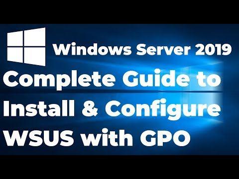 7  How To Install And Configure WSUS In Windows Server 2019