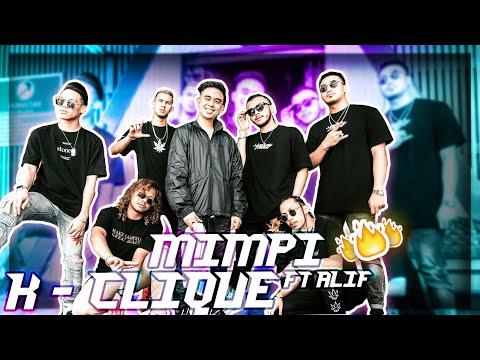 Free Download K Clique - Mimpi (feat. Alif) Color Coded Lirik [hd] Mp3 dan Mp4