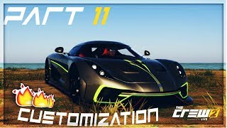 The Crew 2 part 11 | Hyper car events | Koenigsegg Regera customization Ingame review | (full game)
