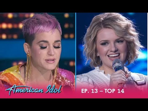 Maddie Poppe: Young Artist Gives Katy Perry All The EMOTIONS! | American Idol 2018