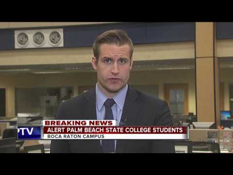Alert issued at Palm Beach State College's Boca Raton campus