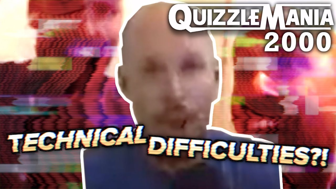 Luke Owen Has Some TECHNICAL DIFFICULTIES! (QuizzleMania 2000 Clip)