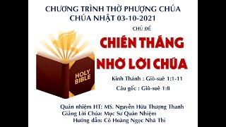 HTTL HUẾ - Chương trình thờ phượng Chúa - 03/10/2021