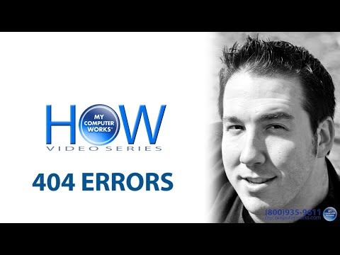 404 Error (Page Not Found)? Here's what to do!