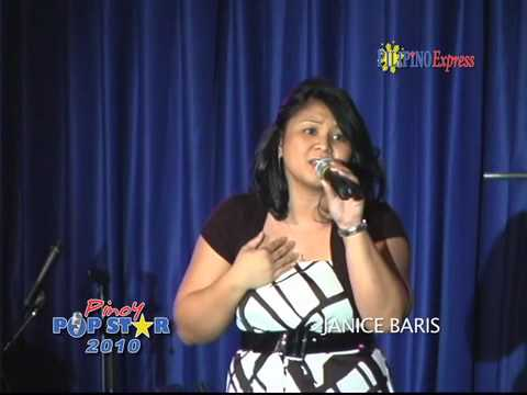 Janice Baris - 2010 Pinoy Pop Star Finalist