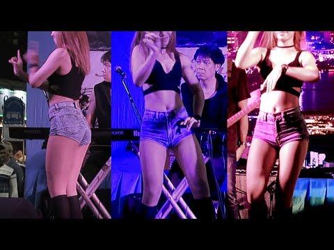 GIRLS NIGHT OUT SONG - THAI GIRLS DANCING IN PATTAYA BEACH ROAD
