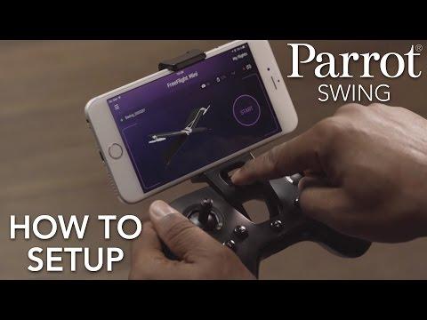 Parrot Minidrones - SWING - Tutorial #1: Setup