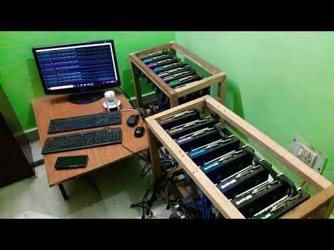 Ethereum Mining Setup 220 Mh/s Rx 580 8 Gpu Mining Rig Delhi