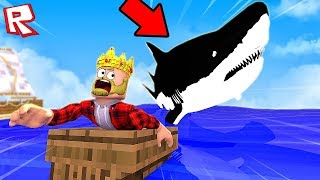 ESCAPE FROM the GIANT shark! ROBLOX